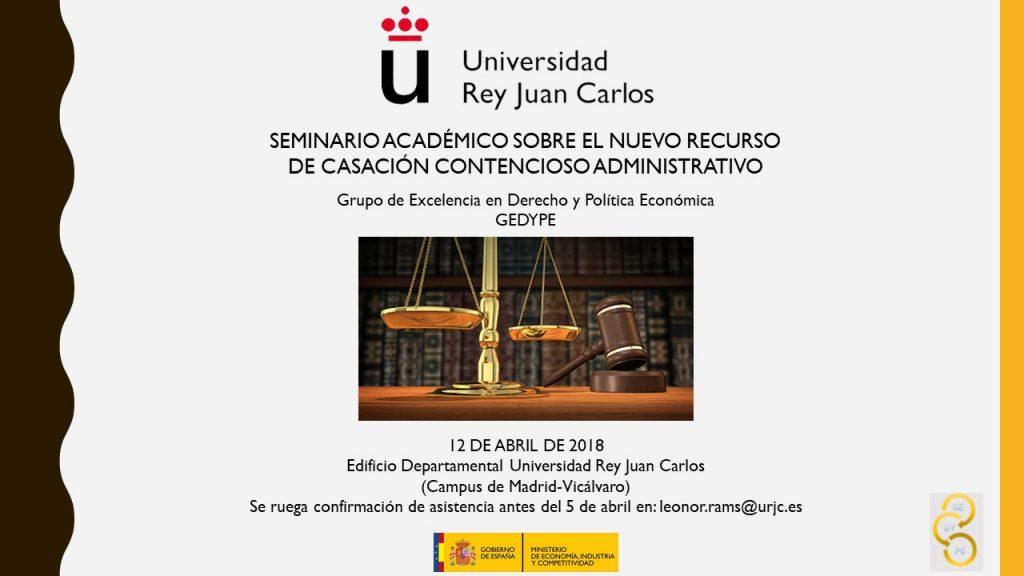 seminario derecho administrativo gedype